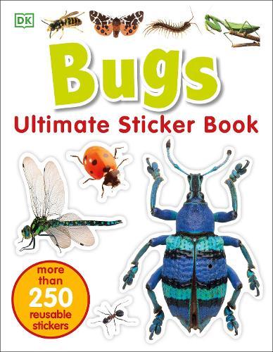 Bugs Ultimate Sticker Book (Paperback)