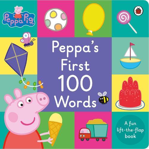Peppa Pig: Peppa's First 100 Words - Peppa Pig (Board book)