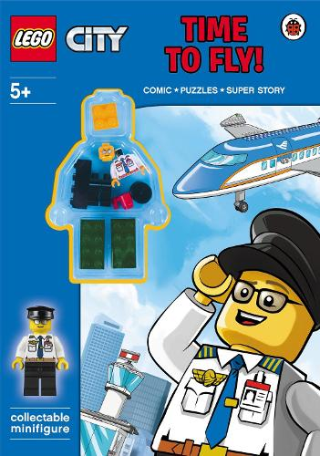 LEGO City: Time to Fly! (Paperback)