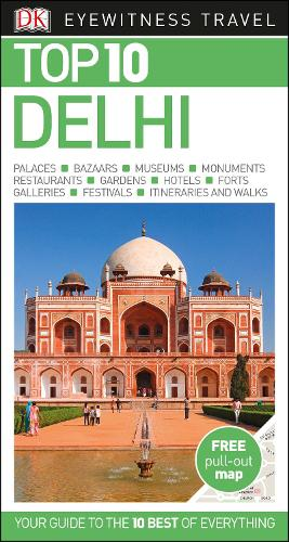 Top 10 Delhi - DK Eyewitness Travel Guide (Paperback)