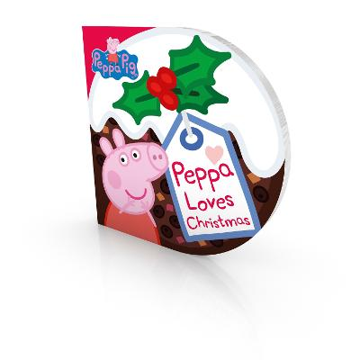 Peppa Pig: Peppa Loves Christmas - Peppa Pig (Board book)
