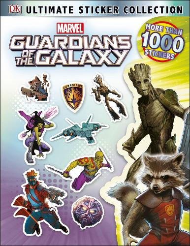 Guardians of the Galaxy Ultimate Sticker Collection (Paperback)