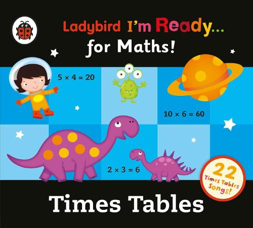 Ladybird Times Tables Audio Collection: I'm Ready for Maths (CD-Audio)