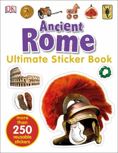 Ancient Rome Ultimate Sticker Book (Paperback)