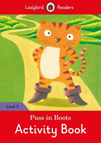 Puss in Boots Activity Book - Ladybird Readers Level 3 (Paperback)