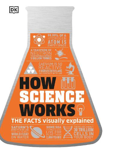 How Science Works: The Facts Visually Explained (Hardback)
