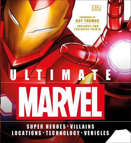 Ultimate Marvel: Includes two exclusive prints (Hardback)
