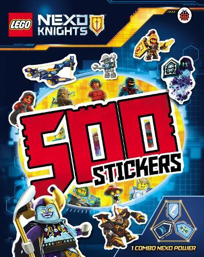 LEGO NEXO KNIGHTS: 500 Stickers (Paperback)