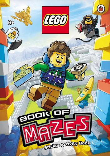 LEGO Book of Mazes Sticker Activity Book - LEGO City (Paperback)