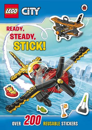 LEGO City: Ready, Steady, Stick Sticker Book - LEGO City (Paperback)