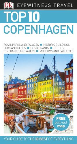 DK Eyewitness Top 10 Copenhagen - Pocket Travel Guide (Paperback)