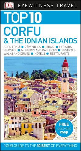 Top 10 Corfu and the Ionian Islands - DK Eyewitness Travel Guide (Paperback)