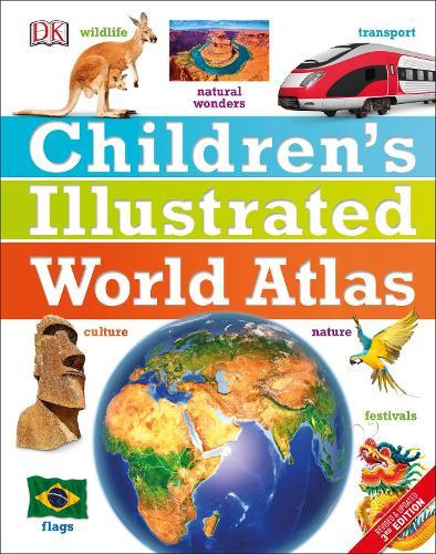 Children's Illustrated World Atlas (Hardback)