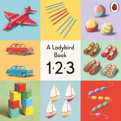 123: A Ladybird Vintage Board Book (Board book)