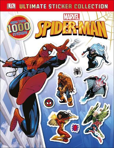 Marvel Spider-Man Ultimate Sticker Collection (Paperback)