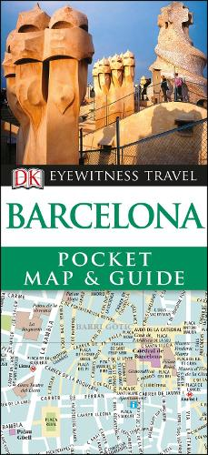 Barcelona Pocket Map and Guide - Travel Guide (Paperback)
