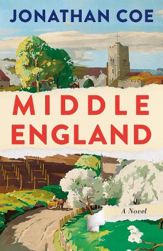 Cover of the book, Middle England.