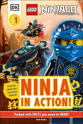 LEGO NINJAGO Ninja in Action! - DK Readers Level 1 (Hardback)