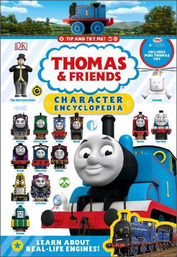 Thomas & Friends Character Encyclopedia: With Thomas Mini toy (Hardback)