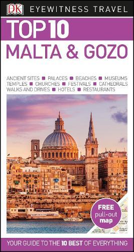Top 10 Malta and Gozo - DK Eyewitness Travel Guide (Paperback)