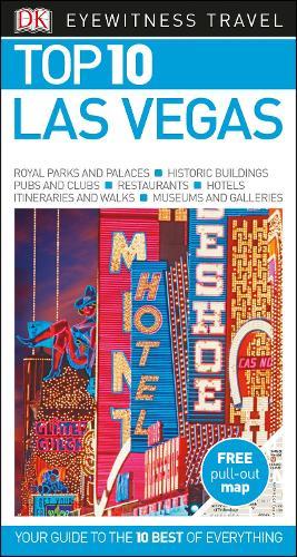 DK Eyewitness Top 10 Las Vegas - Pocket Travel Guide (Paperback)