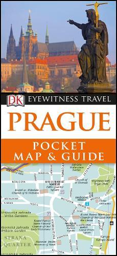 Prague Pocket Map and Guide - DK Eyewitness Travel Guide (Paperback)