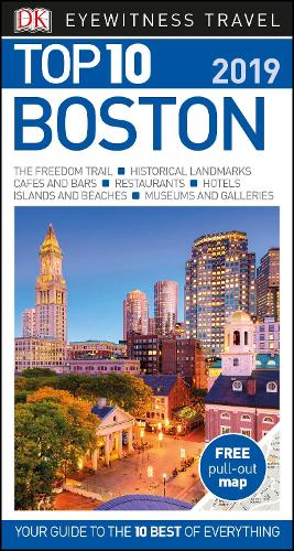 DK Eyewitness Top 10 Boston: 2019 - Pocket Travel Guide (Paperback)