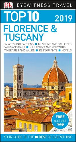 DK Eyewitness Top 10 Florence and Tuscany: 2019 - Pocket Travel Guide (Paperback)