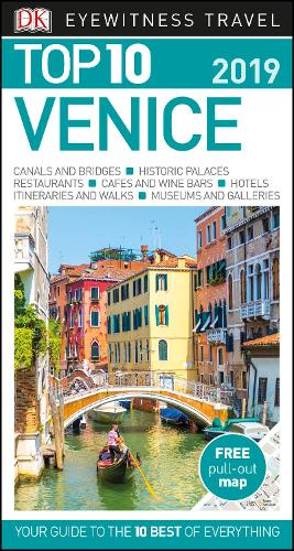 DK Eyewitness Top 10 Venice: 2019 - Pocket Travel Guide (Paperback)