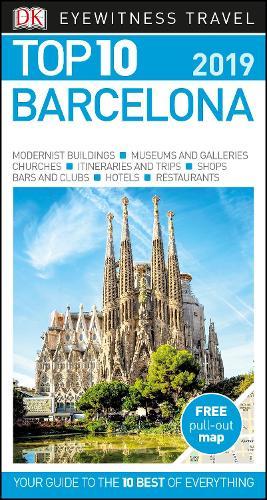 DK Eyewitness Top 10 Barcelona: 2019 - Pocket Travel Guide (Paperback)