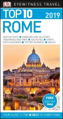 DK Eyewitness Top 10 Rome: 2019 - Pocket Travel Guide (Paperback)