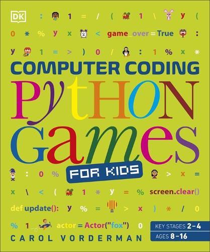 Computer Coding Python Games for Kids (Paperback)