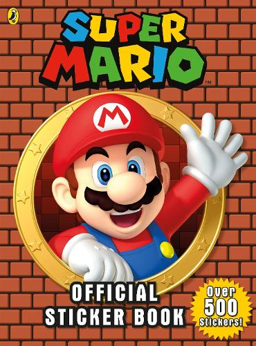 Super Mario: Official Sticker Book - Super Mario (Paperback)