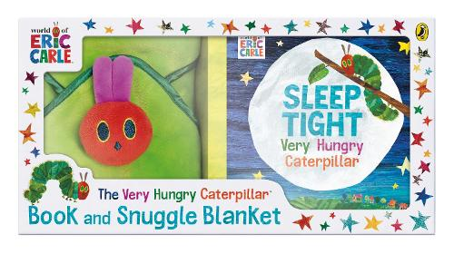 The Very Hungry Caterpillar Book and Snuggle Blanket (Board book)
