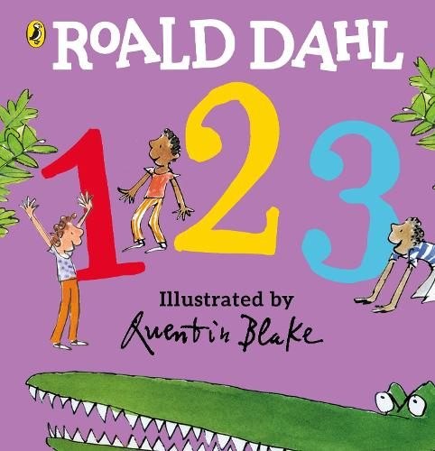 Roald Dahl's 123: (Counting Board Book) (Board book)