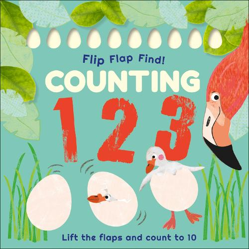 Flip, Flap, Find! Counting 1, 2, 3 (Board book)