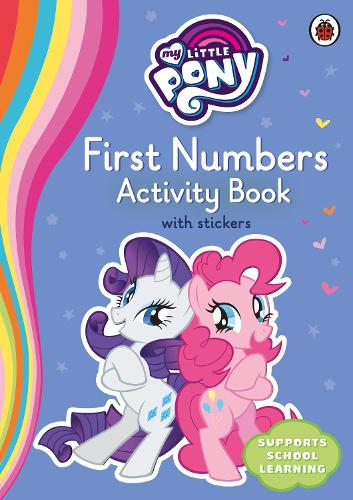 My Little Pony First Numbers Activity Book (Paperback)