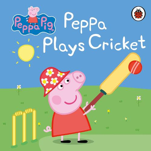 Peppa Pig: Peppa Plays Cricket (Board book)