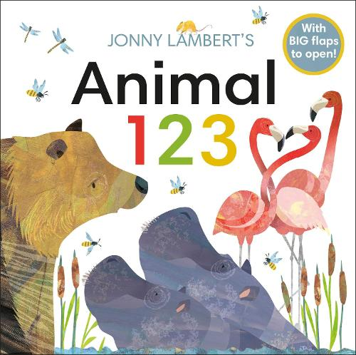 Jonny Lambert's Animal 123 (Board book)