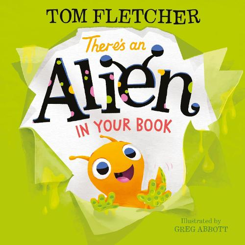 There's an Alien in Your Book (Hardback)