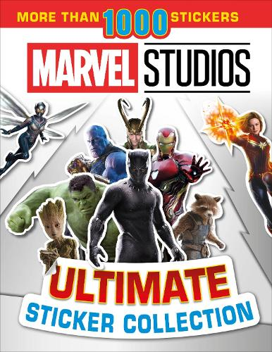 Marvel Studios Ultimate Sticker Collection: With more than 1000 stickers (Paperback)