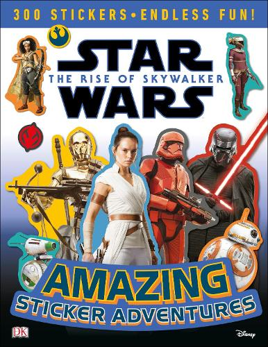 Star Wars The Rise of Skywalker Amazing Sticker Adventures (Paperback)