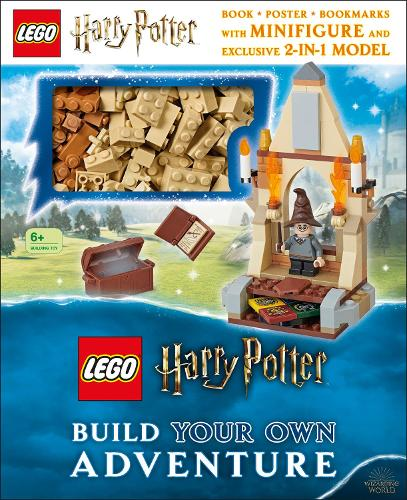 LEGO Harry Potter Build Your Own Adventure: With LEGO Harry Potter Minifigure and Exclusive Model - LEGO Build Your Own Adventure (Hardback)
