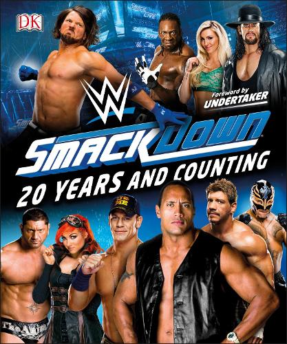 WWE SmackDown 20 Years and Counting (Hardback)