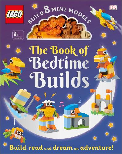 The LEGO Book of Bedtime Builds: With Bricks to Build 8 Mini Models (Hardback)