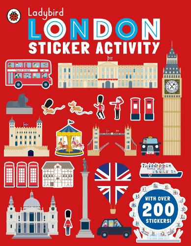 Ladybird London: Sticker Activity (Paperback)