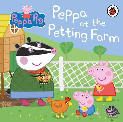 Peppa Pig: Peppa at the Petting Farm - Peppa Pig (Board book)