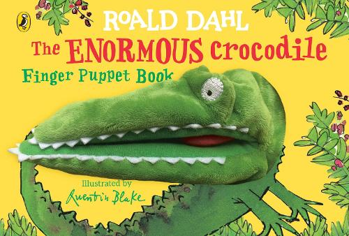 The Enormous Crocodile's Finger Puppet Book (Board book)