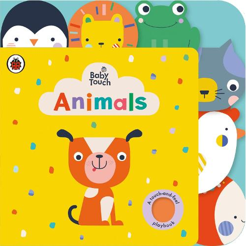Baby Touch: Animals Tab Book - Baby Touch (Board book)