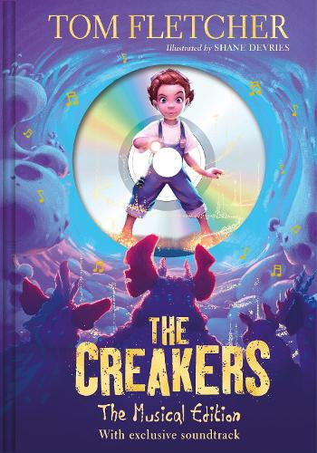 Cover of the book, The Creakers.
